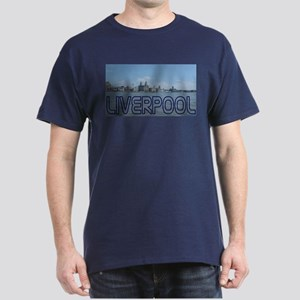 Scenic Liverpool (Blue) Dark T-Shirt